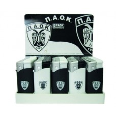 PK413 PAOK Rubber lighters